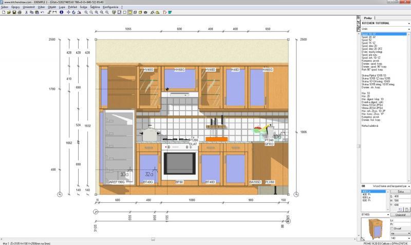 Kuchnie kitchendraw 6 5 projekt z wizualizacj wn trza for Kitchendraw 6 5